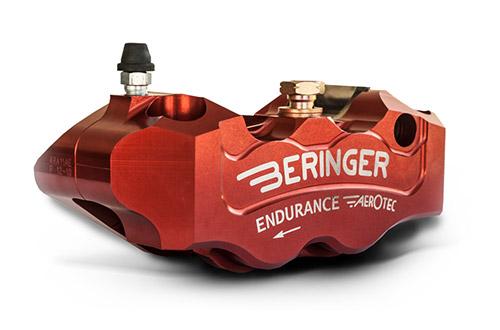 Étrier 4 pistons endurance Beringer