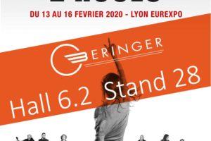 Beringer sera présent au salon du 2 roues de Lyon