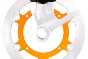 Un système de freinage arrière complet pour la KTM 500 EXC